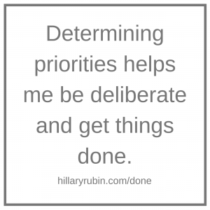 Hillary Rubin - get things done