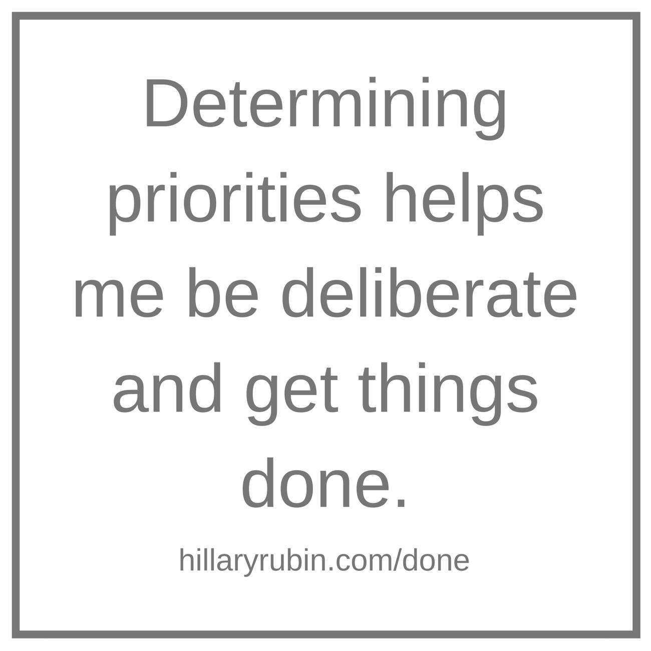 Hillary Rubin - get things done